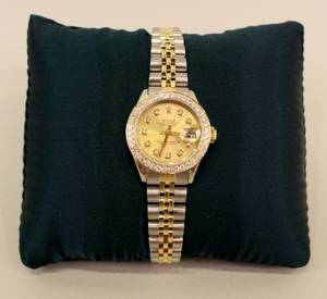 Ladies Two Tone Rolex