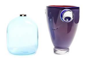 A Contemporary Murano Glass Vase