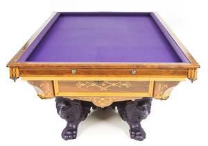 Realized Price For Monarch Billiards Table Brunswick - Brunswick monarch pool table