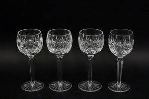 Set of Four Waterford Crystal Wine Goblets