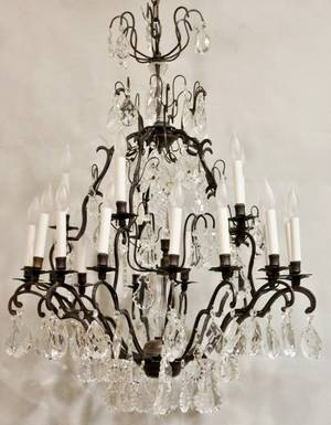 French Style 20 Light Chandelier