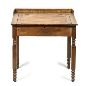 An American Mahogany FlipTop Writing Desk