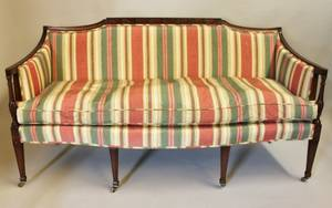 Mid20th C Upholstered Sofa