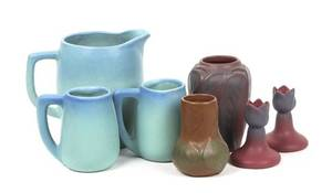 A Group of Seven Van Briggle Pottery Articles