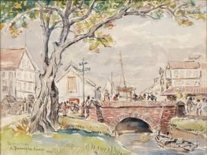 Reynolds Beal American 18661951 A Demerara Canal