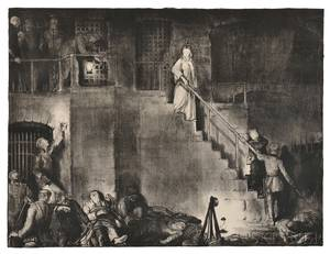 George Wesley Bellows American 18821925 Murder of Edith Cavell