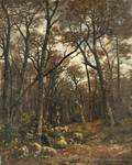 Charles mile Jacque French 18131894 Shepherd and Flock in a Forest Glade