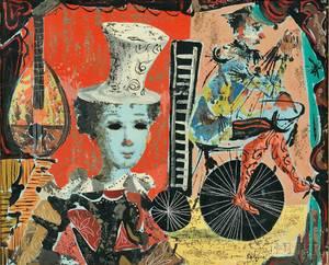 Jean Calogero ItalianAmerican 19222001 Surrealist Circus