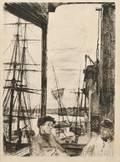 James Abbott McNeill Whistler American 18341903 Rotherhithe