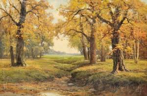 Robert William Wood American 18891979 Autumn Vista