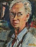Sigmund Joseph Menkes American 18961986 SelfPortrait