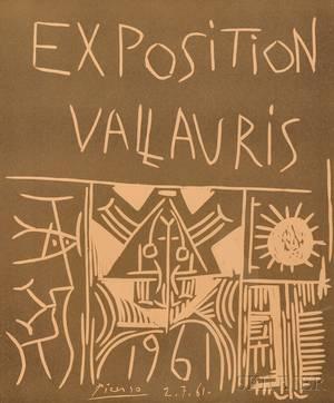 Pablo Picasso Spanish 18811973 Exposition Vallauris 1961