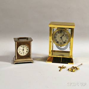 Two Seth Thomas Mantel Clocks