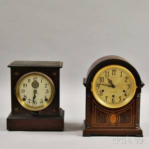 Two Seth Thomas Shelf Clocks