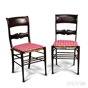 Pair of Edwardian Mahogany Side Chairs