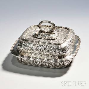 Tiffany amp Co Sterling Silver Entree Dish and Cover