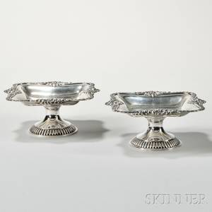 Pair of Dominick amp Haff Sterling Silver Tazza
