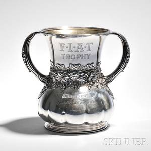Tiffany amp Co Sterling Silver Racing Trophy