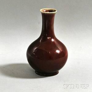 Flambeglazed Bottle Vase