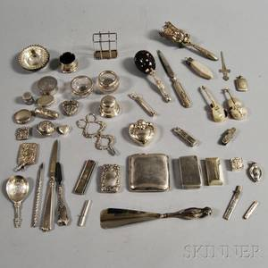 Group of Decorative Silver Items