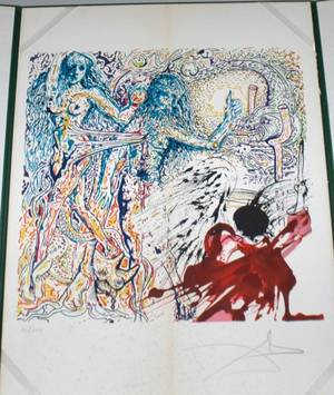 1086 Salvador Dali Lithograph signed and numbered