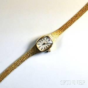 14kt Gold Movado Ladys Wristwatch