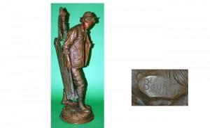 1203 Eutrope Bouret French 18331906 Large Bronze