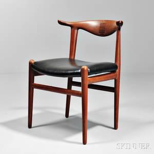 Bull Horn Chair Attributed to Hans Wegner