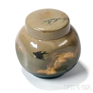 William McDonald Rookwood Pottery Covered Jar