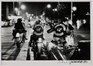 Jim Marshall American 19362010 Leaving Winterland after Dead and Big Brother Gig 1967 printed c 1979 Signed and dated Jim Mars