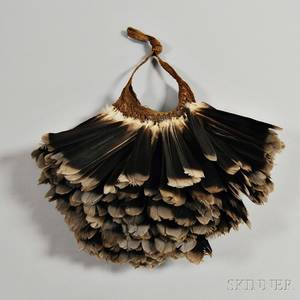 Papua New Guinea Ceremonial Feather Bag