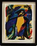Cher Shaffer American b 1948 Black Bird Jazz