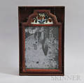 Boxed Redpainted Courting Mirror