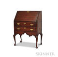 Queen Anne Pine Slantlid Desk