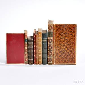 Erotica and Early Books Seven Titles in Leather Bindings
