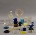 Twentyseven Pieces of Pressed Glass Tableware