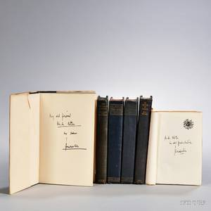 Mencken Henry Louis 18801956 Six Books Signed and Inscribed by the Author