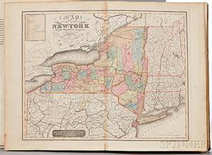 Burr David H 18031875 An Atlas of the State of New York