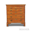 Chippendale Maple Chest of Drawers