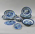 Fourteen Pieces of Canton Porcelain