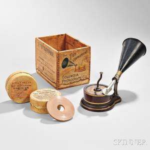 Columbia Phonograph The Toy Graphophone