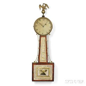 Simon Willard Patent Timepiece or Banjo Clock
