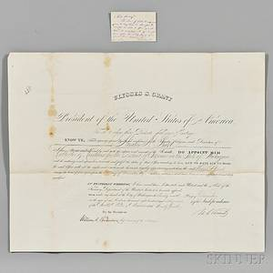 Grant Ulysses Simpson 18221885 Archive Containing Presidential Signed Items and Autographs of his Presidential Cabinet