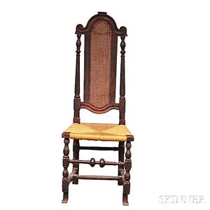 Jacobean Caned Side Chair