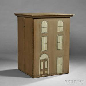 Painted Dollhouse