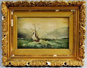 John Tyler American 19th Century Leeward Bound