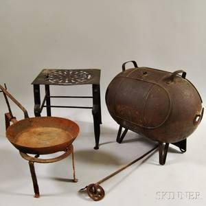 Four Iron Kitchen Items