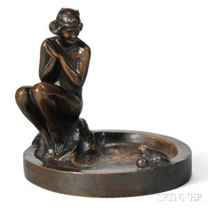 Ethel Ehrmann Loewy Sculpture of the Princess and the Frog