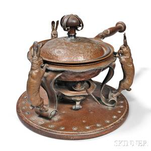 Joseph Heinrich Hare Chafing Dish
