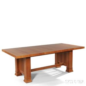 Frank Lloyd Wright Robie House Dining Table by Copeland